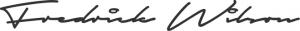 fredrick wilson signature